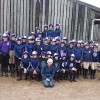Polden Hills Pony Club in their Treehouse Team Colours