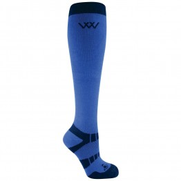Woof Wear Long Bamboo Waffle KnitRiding Socks: Pack of 2