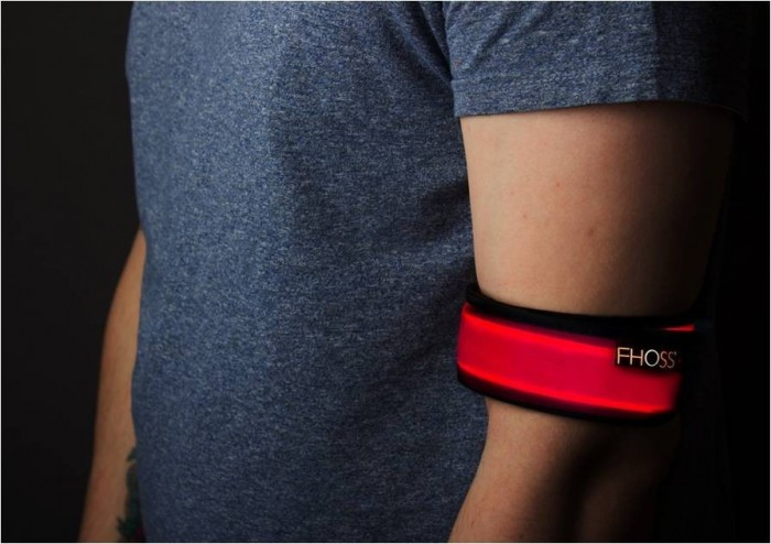 The Red Armband by Fhoss