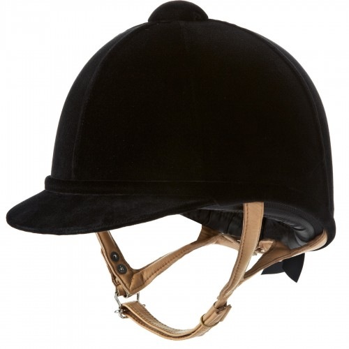 Fian Black Velvet Hat