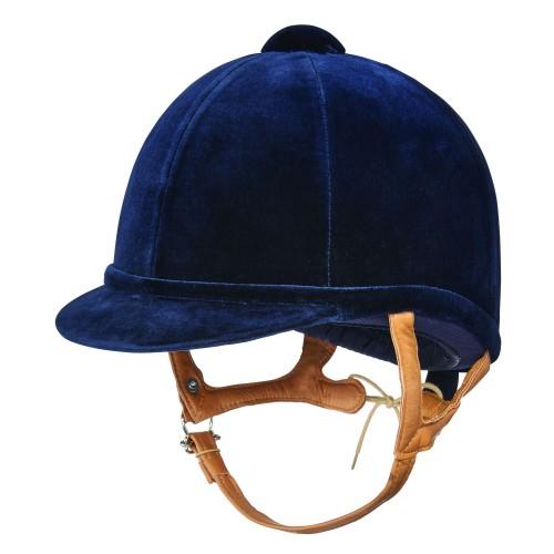 Fian Navy Velvet Hat