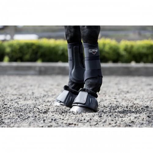 LeMieux Fleece Rubber Bell Boots image #