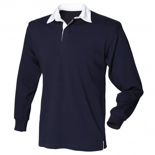 Dark Blue Ladies Rugby Shirt