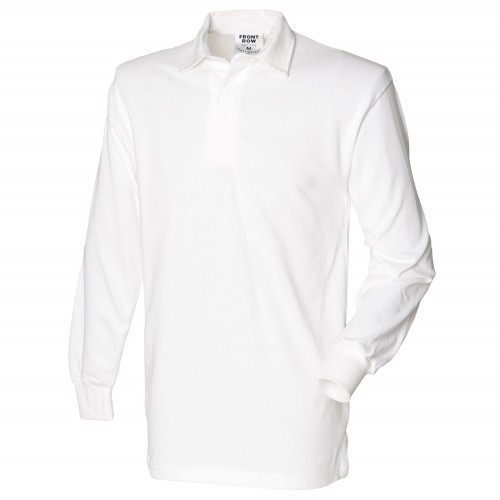 White Ladies Rugby Shirt