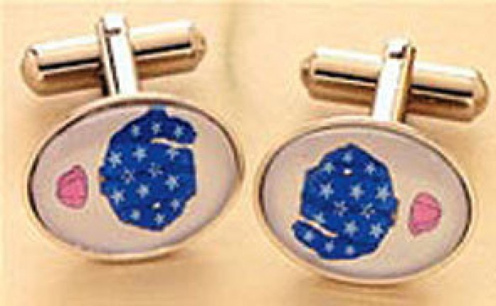 Cufflinks with your own colours