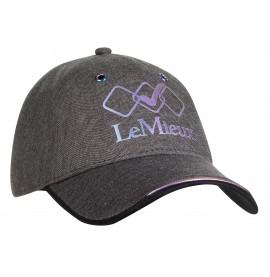 Grey Seamless Baseball Cap