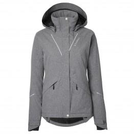 Stierna Stella Winter Jacket - Grey Melange