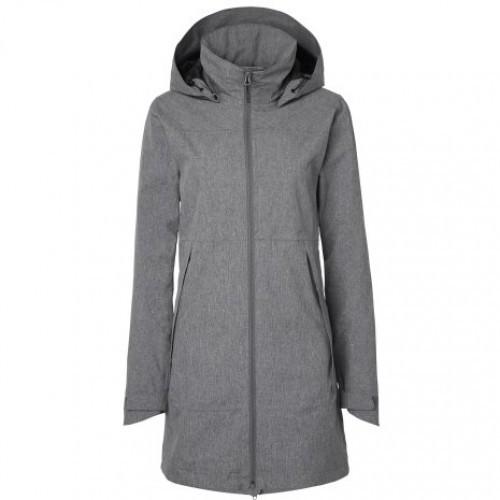 Stierna Storm Rain Coat - Grey Melange image #