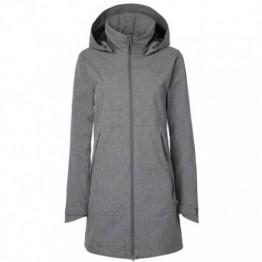 Stierna Storm Rain Coat - Grey Melange
