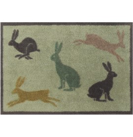 Turtle Mat Hares