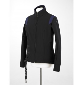 Black/Blue Helite Blouson