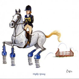 Horse Greeting Cards - Bryn Parry