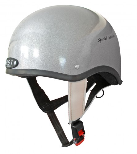 The Gatehouse HS1 helmet in limited edition silver