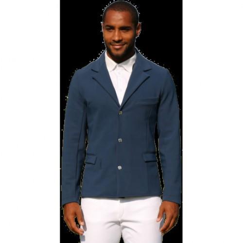 Mens Hugo Jacket in petrol blue