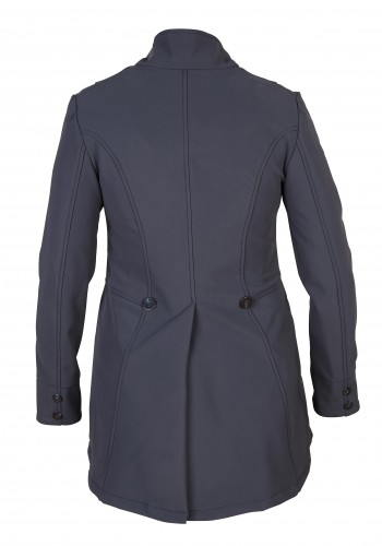 Helite Hunt Coat in navy (midnight blue).