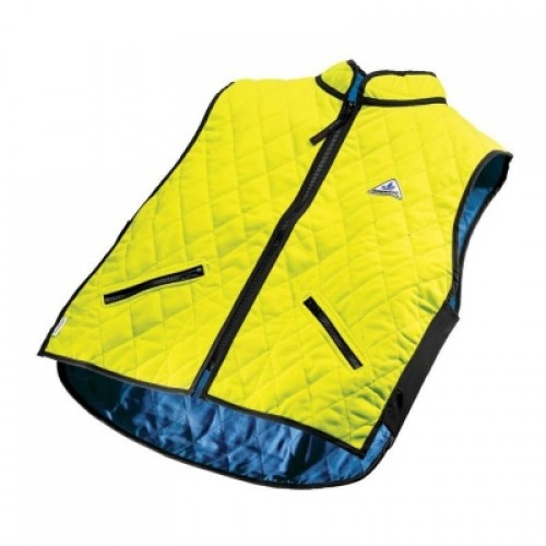 Hyperkewl Evaporative Cooling Gilet in High Viz