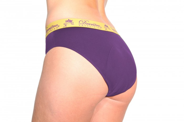 Padded panty in purple