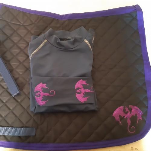 Dragon Base and Saddle Cloth