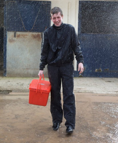 The Jomiluti Waterproof Trousers.