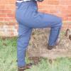 Jomiluti Trousers in dark blue