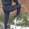 Jomiluti trousers in black