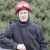 Mick Kinane, champion jockey, in the Jomilui jacket.