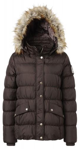 Lauren Down Brown Jacket