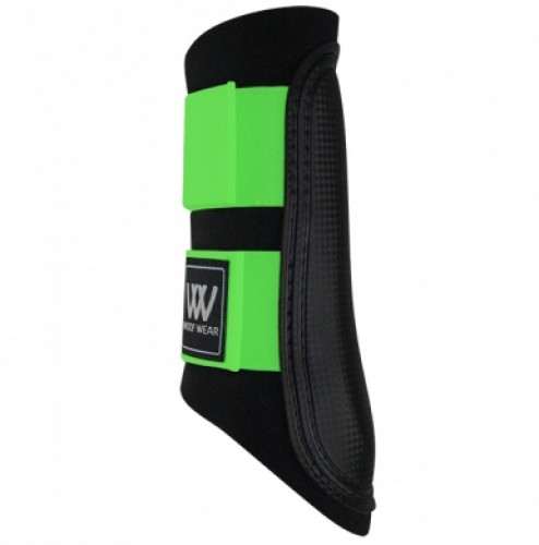Lime WoofWear Club Brushing Boot Colour Fusion