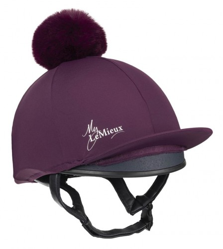 Grape Young Rider Hat Silk