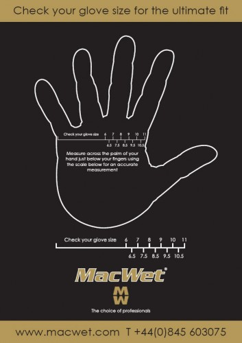 The MacWet size chart