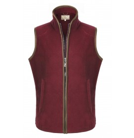 Ladies Maisie Gilet: Burgundy
