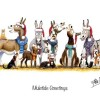 Horse, Hound and Farm Animal Christmas Greeting Cards by Alex Underdown image #