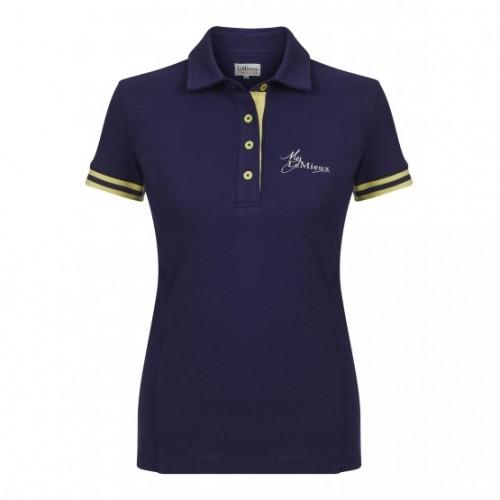 Navy /Citron LeMieux Polo Shirt