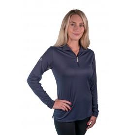 Navy Kastel Charlotte UV Protective Shirt