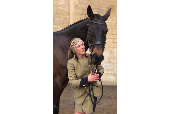 Nicky Hill's 1st Badminton Trot Up, 2019