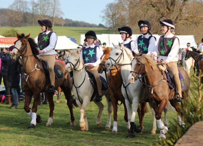North Hereford Mounted Games Team