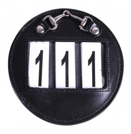 Black/Silver Number Holder Ricki