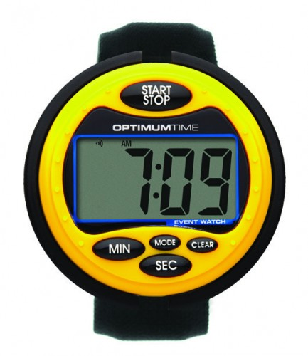 Yellow Series 3 Optimum Time Watch