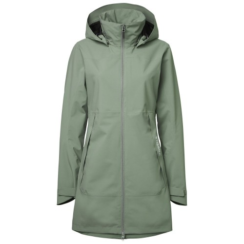 Stierna Storm Rain Coat - Light Olive image #