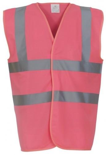 Pink High Viz Tabard