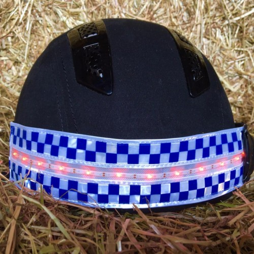POLITE LED Rechargeable Flashing Hat Band image #