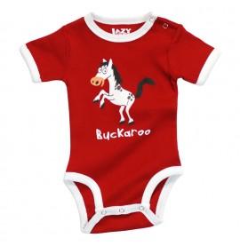 LazyOne Unisex Buckaroo Babygrow Vest