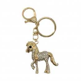 Little Rider Diamante Key Ring