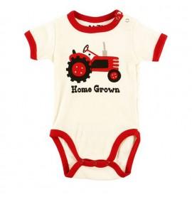 LazyOne Boys Home Grown Babygrow Vest