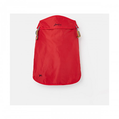 Joules Dog Water Resistant Raincoat - Red  image #
