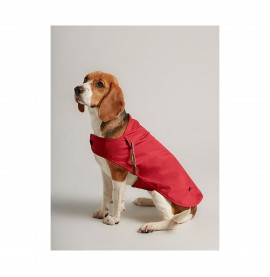 Joules Dog Water Resistant Raincoat - Red