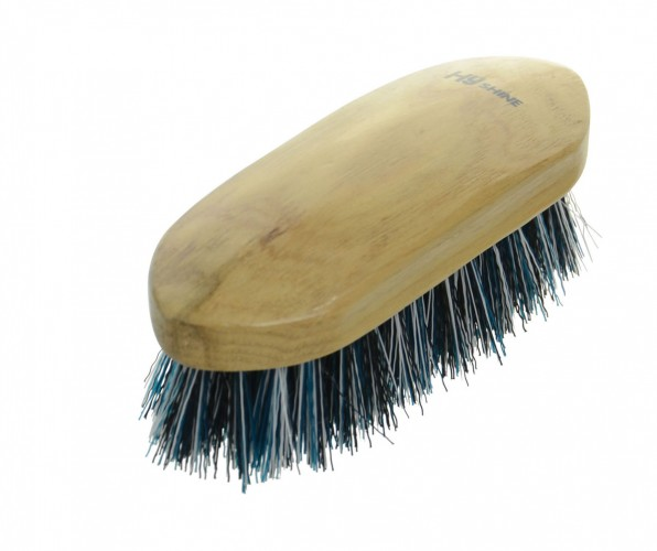 Natural Wooden Dandy Brush Medium image #