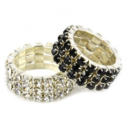 Diamante Plaiting Bands