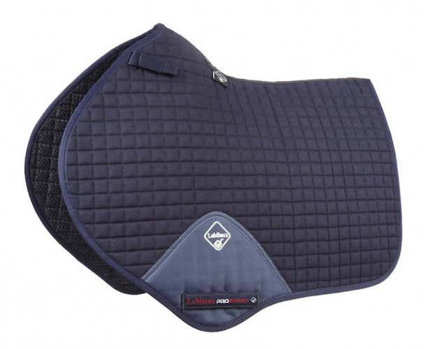 LeMieux Close Contatct Saddlecloth Navy