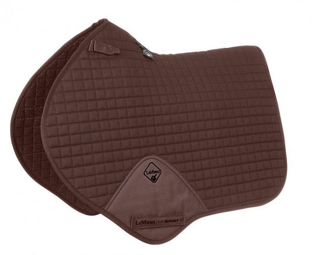 LeMieux Close Contatct Saddlecloth brown